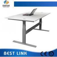 China Top 5 3-legs electric Height adjustable working table and desk on sale