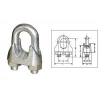 Buy cheap BS 462 Hot Dipped Galv Malleable Wire Rope Clips from Wholesalers