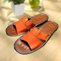 Buy cheap Comfortable cool leather slipper indoor/outdoor from Wholesalers