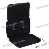 Buy cheap i-Speaker-BK Black 7inch Chargeable Speaker Bag Case for iPhone iPad itouch Mobile Phone from wholesalers