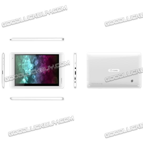 Quality Ramos W17Pro 7 Inch Tablet PC AML8726-MX Cortex A9 Dual Core HD Screen White -16GB for sale