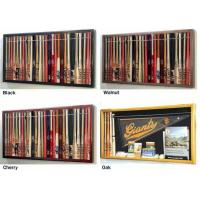 "Buy cheap Mini 18"" Baseball Bat Display Case Cabinet w/ UV Protection4 WOOD COLORS! from Wholesalers"
