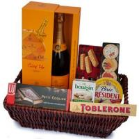 Buy cheap Champagne Soiree Gift Basket NO.28 Beijing gift basket from Wholesalers
