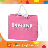 golssy/matt laminated paper bag for shopping, laminated paper gift bags