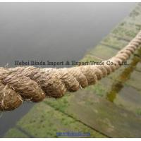Buy cheap Marine Rope, Boat Rope, Jute Rope, Natural Fiber Rope, 3 Strands Twisted Rope from Wholesalers