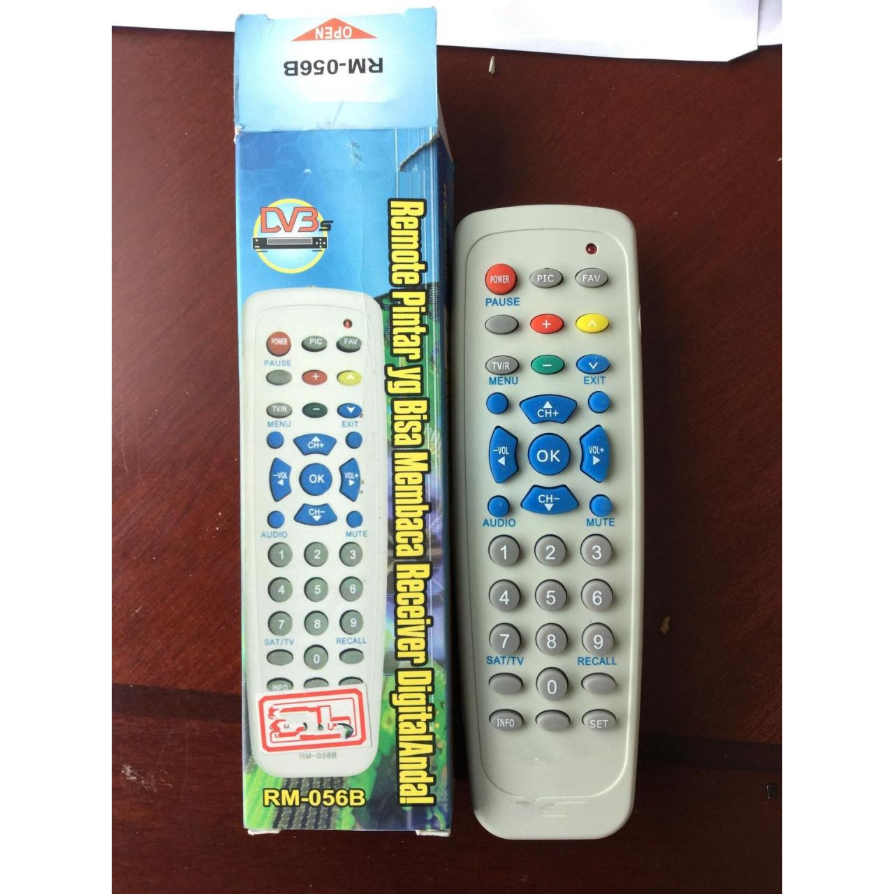 Buy cheap DVB-S remote control RM-056B from Wholesalers