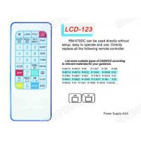 Buy cheap LCD RM-670DC Universal remote control Sony/Panasonic from wholesalers