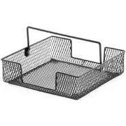 "Buy cheap Black Wire Basket Napkin Holder 7 1/2""L x 7 1/2""W x 2""H from Wholesalers"