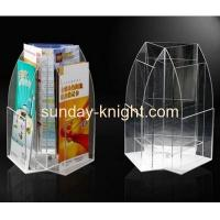 Buy cheap Acrylic round shape brochure holders BHK-002 from Wholesalers