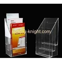 Buy cheap Acrylic brochure display holders BHK-013 from wholesalers