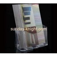 Buy cheap Acrylic brochure display holders for magazine and poster BHK-010 from wholesalers