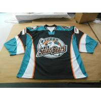 Buy cheap Sublimated jerseys personalize sublimation custom strong and durable hockey jerseys from wholesalers