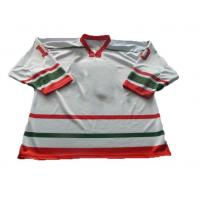 Buy cheap Sublimated jerseys custom hockey jersey with tackle twill name and player number from wholesalers