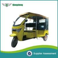 Buy cheap new design model 1200W electric rickshaw 3 wheeler pedicab made in China from Wholesalers