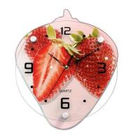 Buy cheap Strawberry Shaped Lovely Chinese Glass Clock Supplier GA0016A from wholesalers