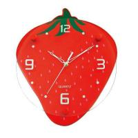 Buy cheap Supply Red Strawberry Home Dcor Wall Clock GA0016B from wholesalers
