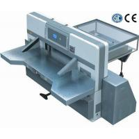 Buy cheap SQZX1150D digital display double worm wheel double guide paper cutting machine from Wholesalers