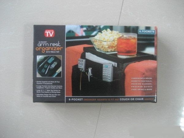 Quality Laid Back Arm Rest Organizer and TV Tray for sale