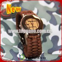 Buy cheap fashion paracord bracelet watch from Wholesalers
