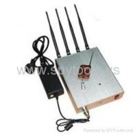 Buy cheap 10-20m Remote Controlled Phone Signal Blocker Jammer from Wholesalers