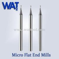 Buy cheap 2 Flute Micro Flat End Mills from Wholesalers
