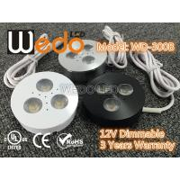 Buy cheap WD-300A 12V 3W LED Cabinet Light / LED Puck Light with CE cUL UL Certified from Wholesalers