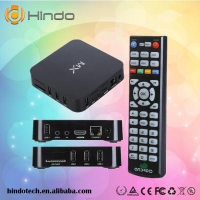 Quality Android TV box MX dual core Amlogic 8726 1G/8G for sale