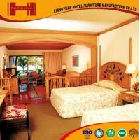 Buy cheap OEM outsourcing Standard Room solid wood mirrored model hotel furniture bedroom from Wholesalers