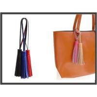 Quality leather tassel key ring Tessel THW-02 Leather Gift wholesale