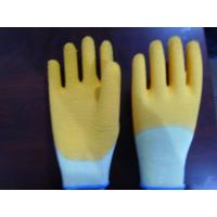 Quality Glove 10 Gauge knitting with latex 34 coated glove wholesale