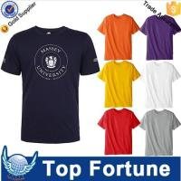 Buy cheap Hot Sales economic unisex plain t shirts for printing from Wholesalers