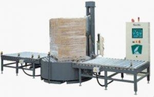 Quality Mechanical Stretch Automatic Pallet Stretch Wrapper for sale