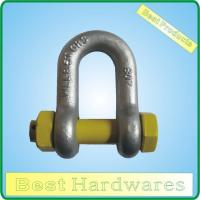 SHACKLE HDG GRADE S DEE SHACKLE WITH SAFETY PIN