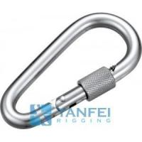 Buy cheap Pear Type Snap Hook With Safety Nut from Wholesalers