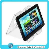 Buy cheap double sides acrylic laptop holder clear acrylic PAD riser from Wholesalers