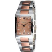 Buy cheap Tungsten Carbide Tungsten Carbide Watch With Rose Color Plating - TG1707 from Wholesalers