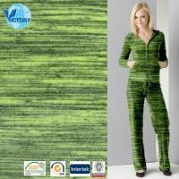Buy cheap Space Dyed Cvc Velour Knit Fabric for Sportswear,Garment,Clothes,etc. from Wholesalers