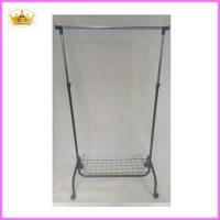 Buy cheap Cloth rack supplier Folable metal single bar laundry drying rack from Wholesalers