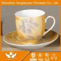 China supplier wholesale customized coffee mug with silicon lid and handle