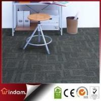 Buy cheap Stock quality guaranteed 600g/m2 grey color PP carpet tiles square from Wholesalers