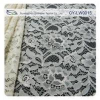 Buy cheap Nylon Viscose Corded Lace Fabric For Clothing 145CM - 150 CM Width CY-LW0015 from Wholesalers