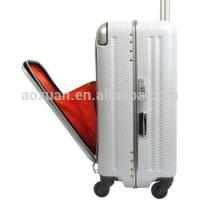 Buy cheap aluminum frame suitcase aluminum frame luggage abs pc luggage from Wholesalers