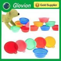 Glovion ECO-friendly silicone folding pet bowl