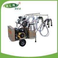 Buy cheap 2014 new model milking machine with gasoline engine and electric motor from wholesalers