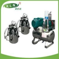 Buy cheap fixed pipeline milking machine group for two cows from wholesalers