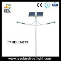 China 60W 10m LED High Efficiency Double Arm Solar Lamp on sale