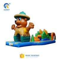 Buy cheap Bespoke bear obstacle courses water pool inflatable floating water park adventure games from Wholesalers