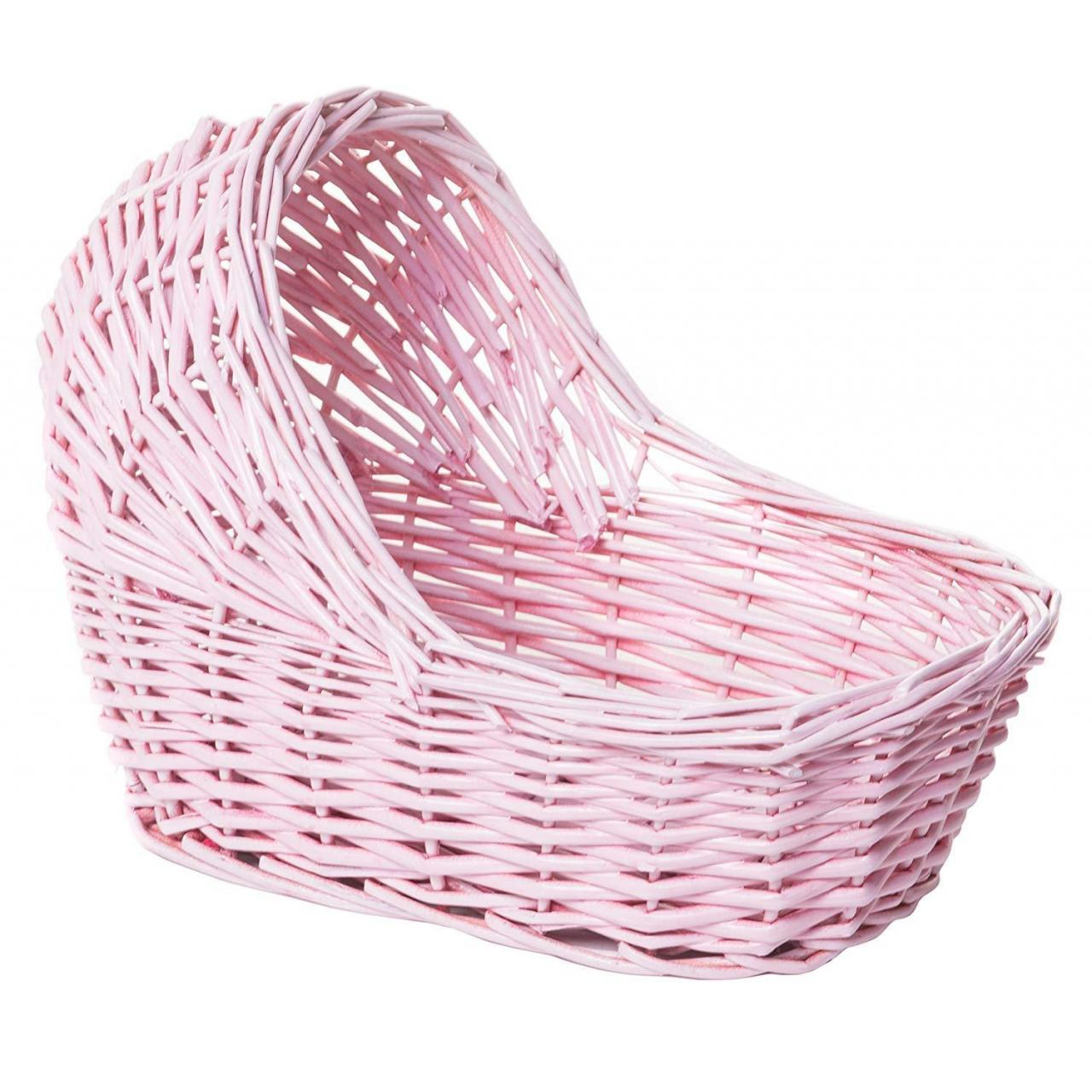 Handmade Willow&Wicker Products Willow Cradle Baby Shower Girl