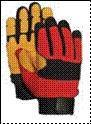 Rope rescue gloves, sports gloves