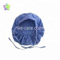 Buy cheap Ties in Back Fitted cord Surgical Scrub Cap Medical Bouffant Hat, blue /pink/green /yellow/purple from Wholesalers